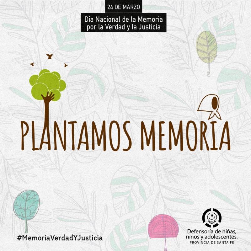 24 de Marzo: Memoria, Verdad, Justicia