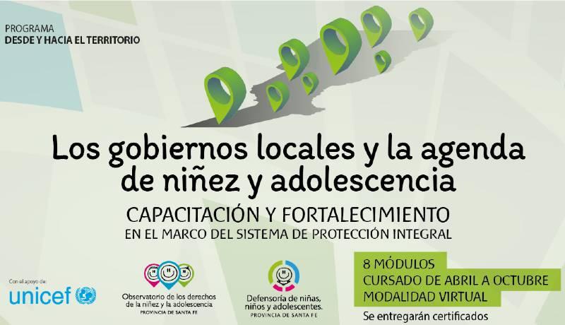 Capacitación a gobiernos locales de Santa Fe